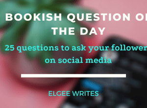 Bookish questions for social media Feature