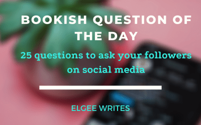 Bookish questions for your bookstagram