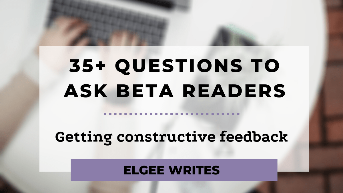 questions to ask beta readers Cover