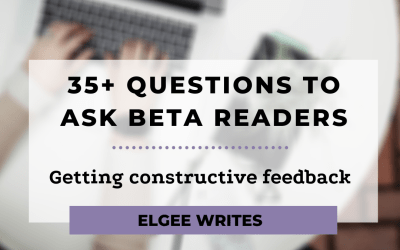 35+ questions to ask beta readers