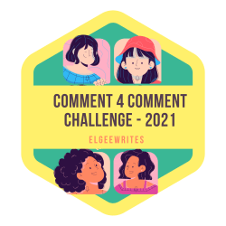 Grab button for Comment 4 Comment Challenge 2021