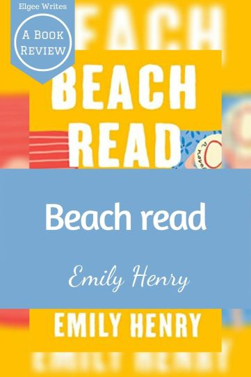 Beach Read by Emily Henry Book cover Pinterest