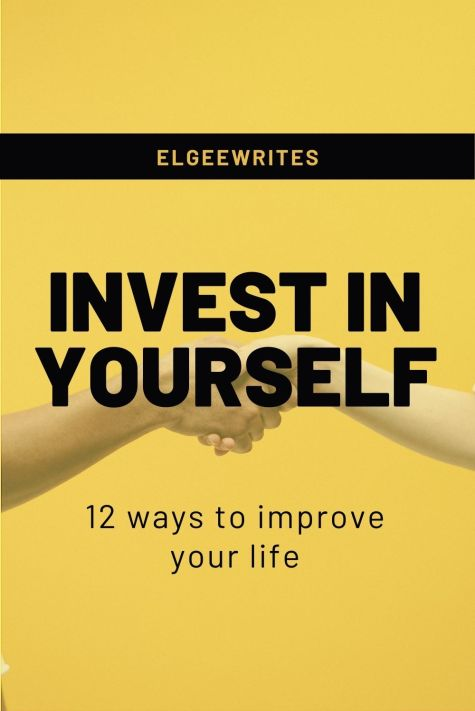 Invest in yourself Pinterest