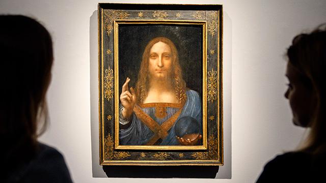 Sin rastro de la obra más cara de la historia: «Salvator Mundi» de Leonardo Da Vinci