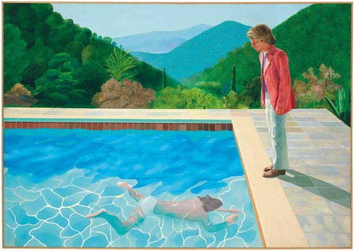 David Hockney ya es el artista vivo más caro