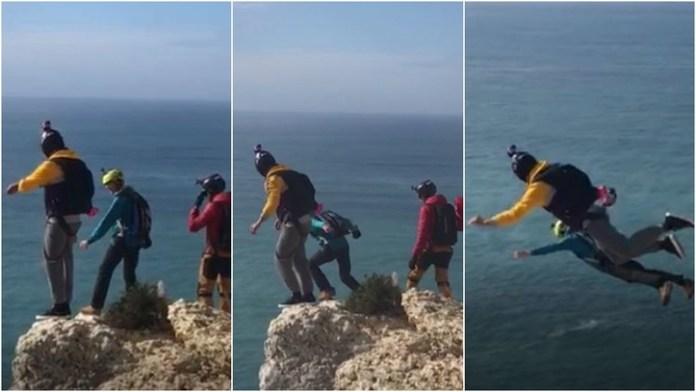 Fallece un hombre al no abrirse su paracaídas mientras hacía un salto base