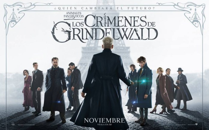 París se transforma para acoger la premier de Animales Fantásticos y los Crímenes de Grindelwald