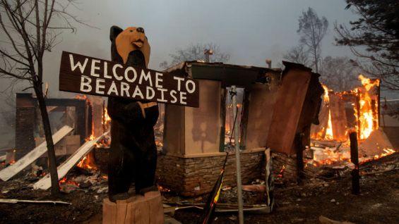 imagen incendio californiw