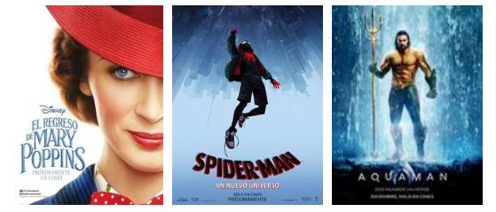 Tres películas que no se pueden perder
