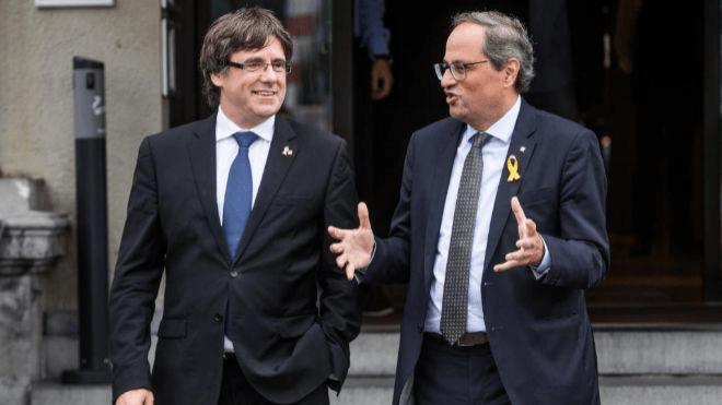 Puigdemont apela a la unidad para que el sentimiento independentista no decaiga
