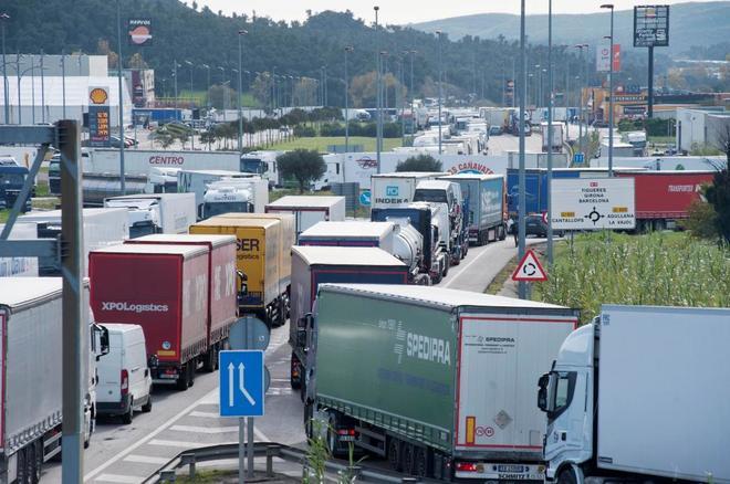 Detenido un camionero español tras disparar a los «chalecos amarillos» con balas de fogueo