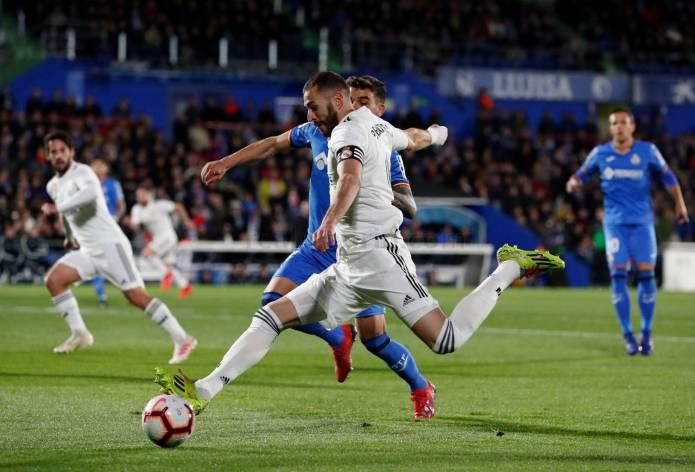 El Real Madrid pide la hora en Getafe