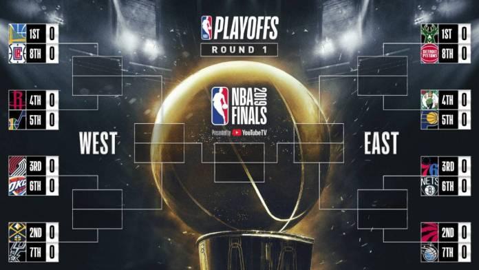 Llegó la hora de la verdad en la NBA. Este es el cuadro definitivo de Playoffs.