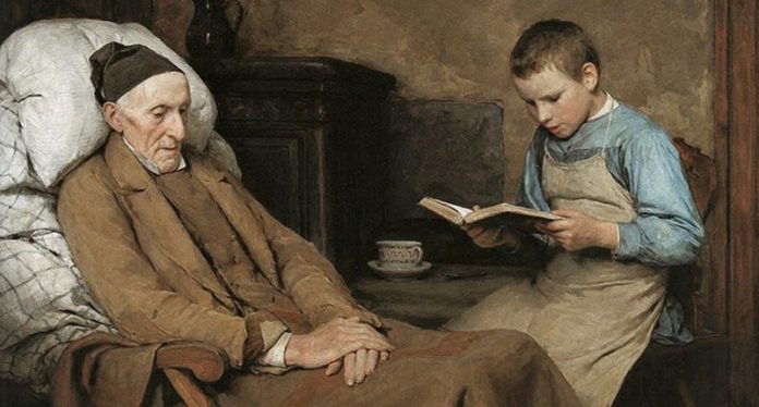 Carta de un nieto anclado en el pasado