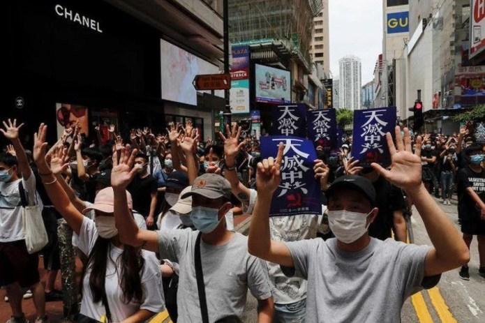 Ya nadie habla de Hong Kong
