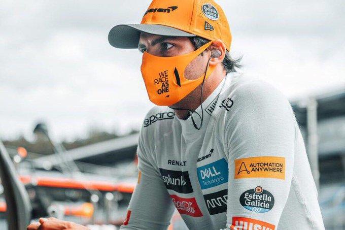 Carlos Sainz durante los entrenamientos