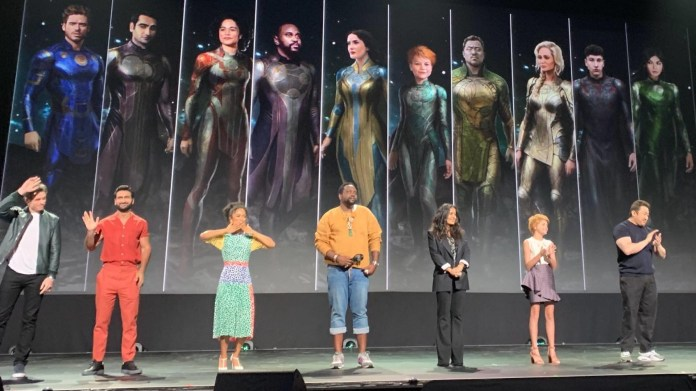 New Set Photos From Marvel's THE ETERNALS Show the Cast in Their Full  Costumes — GeekTyrant