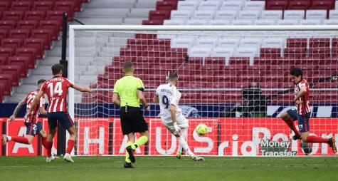 Benzema empata el marcador a pase de Casemiro | Fuente: Real Madrid