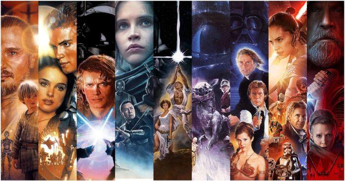 Las nueve películas que componen la Saga Skywalker, en orden | Europosters
