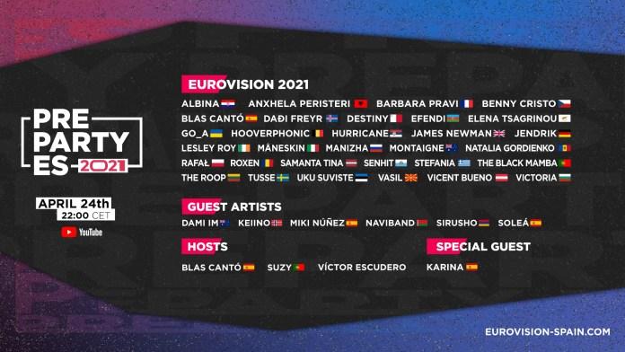 Eurovision Spain celebró su PrePartyES2021