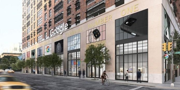 Google abrirá en Nueva York su primera tienda física