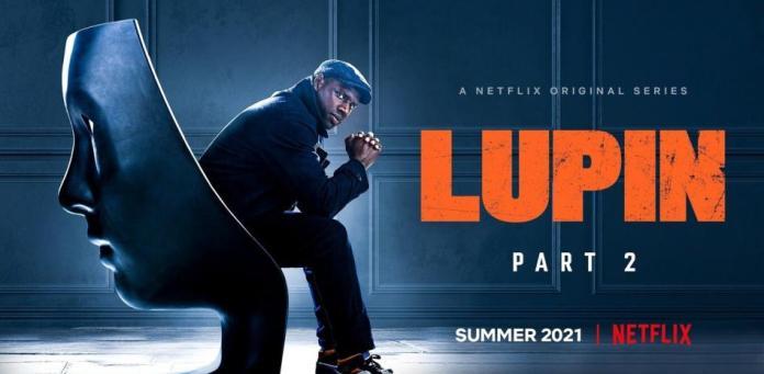 Portada de la segunda temporada de Lupin