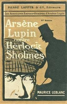 Una de las ediciones de Arsène Lupin vs Herlock Sholmes
