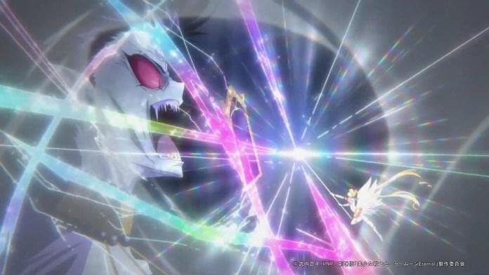 Sailor Moon Eternal vs Queen Nehelenia