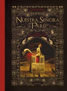 Portada de la novela Nuestra señora de París | Fuente: Edelvives