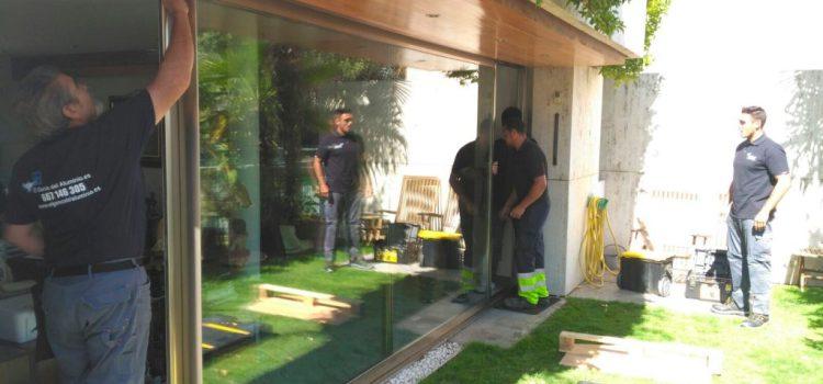 Especialistas en reparación de carpintería de aluminio