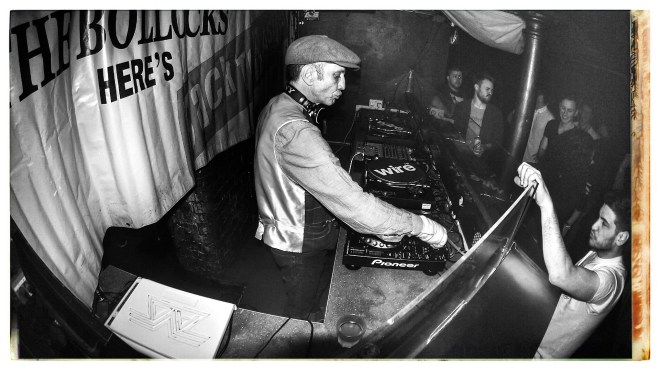 DJ Dave Beer at Back2Basics Residents Party
