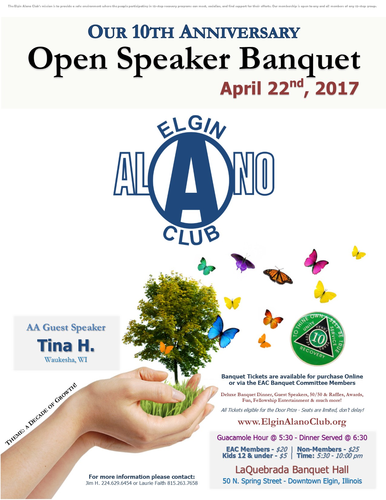 EAC's 10th Annual Open Speaker Banquet 1