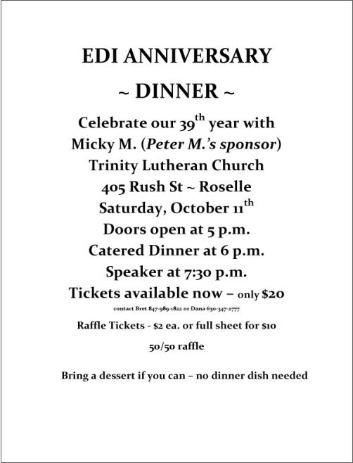 39th EDI Anniversary Dinner 1