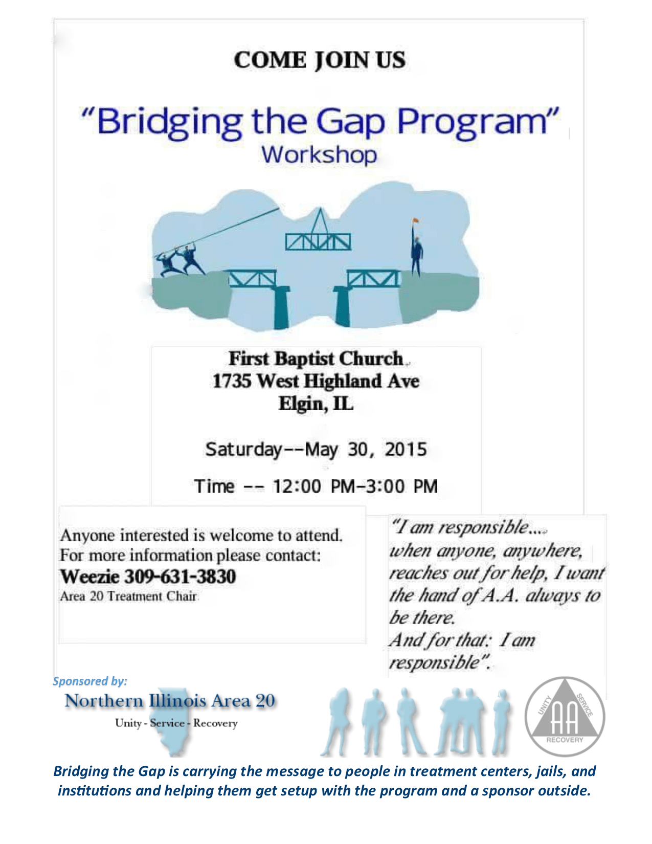 """Bridging the Gap"" Program Workshop 1"