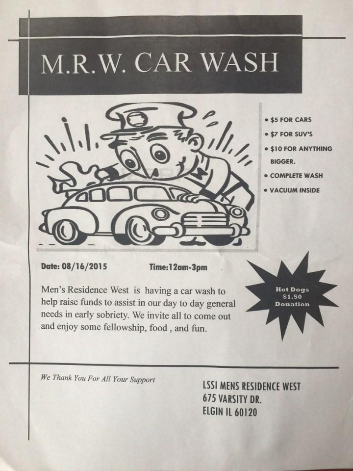 M.R.W. Car Wash - August 16th 1