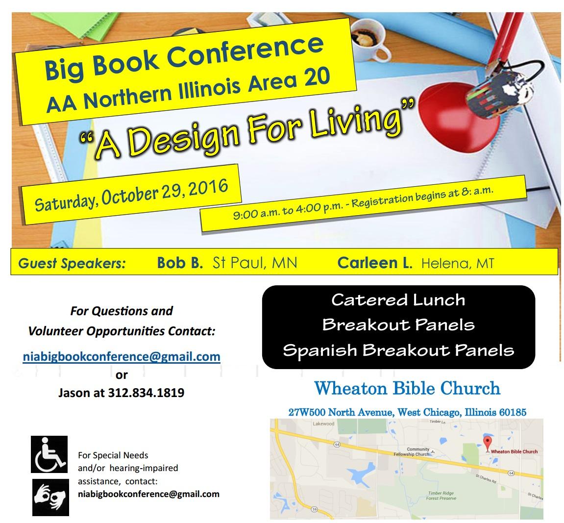 2016 NIA Big Book Conference 1