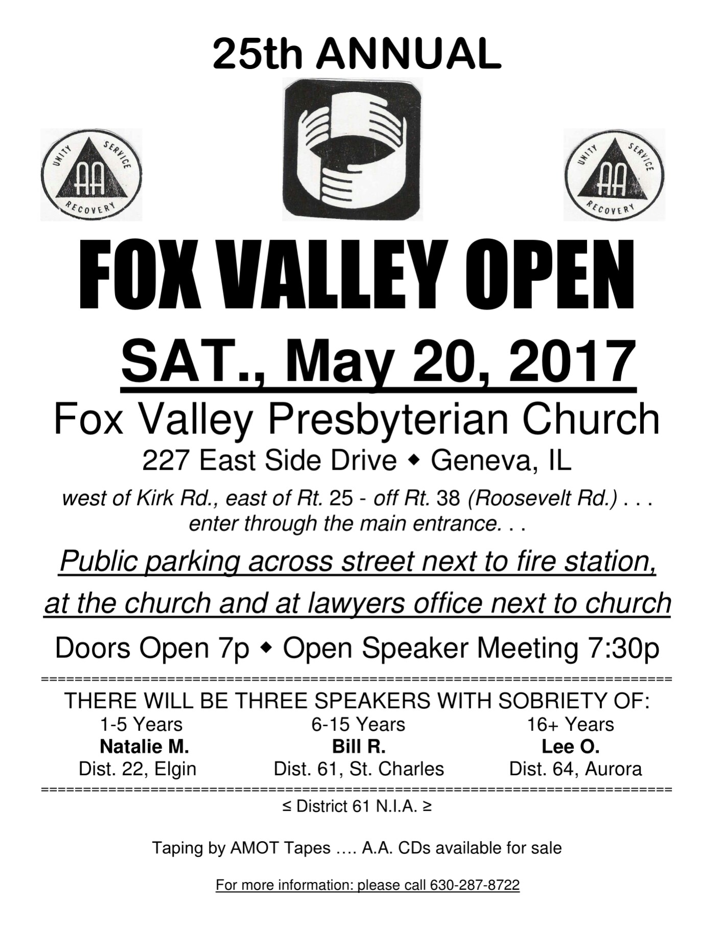 Fox Valley Open 2017 1
