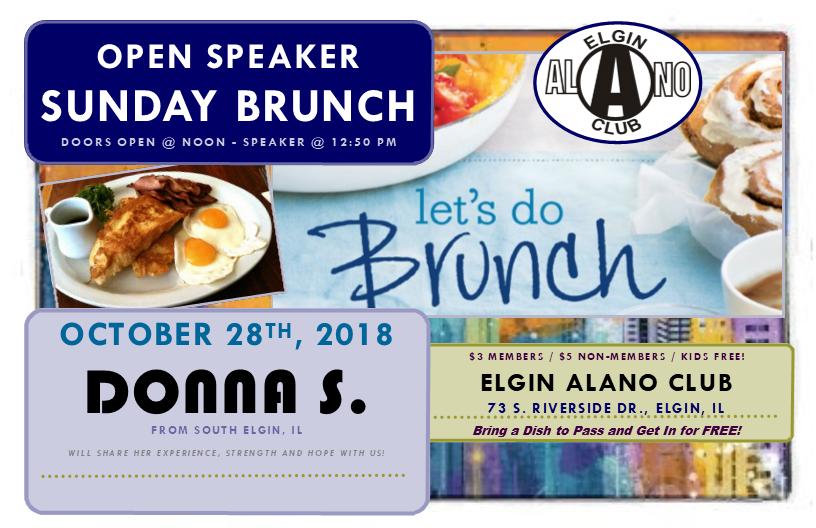 Sunday Open Speaker Brunch - Donna S. 1