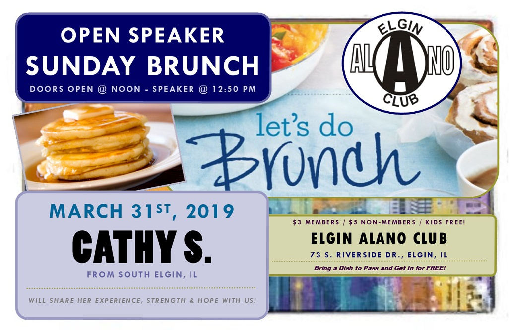 Sunday Open Speaker Brunch - Cathy S. 1