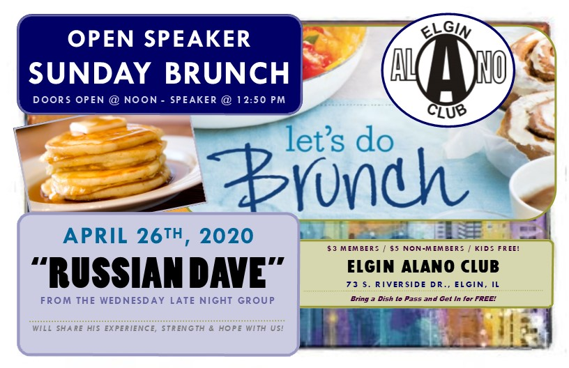 Sunday Open Speaker Brunch - Russian Dave 1