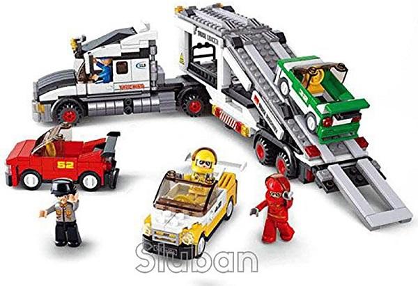camion porta coches sluban