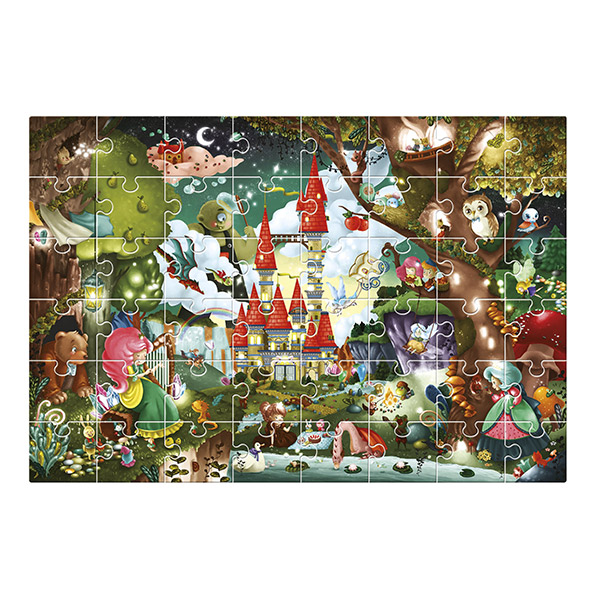 Puzzle gigante castillo