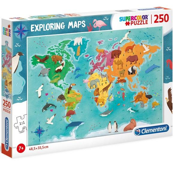Puzzles exploring maps