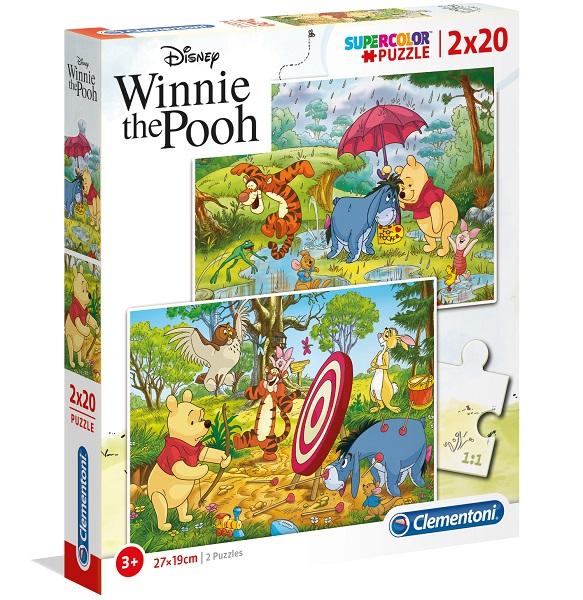 Puzzles infantiles 2 x 20