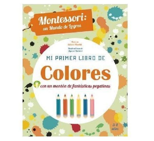 Montessori mi primer libro de colores