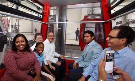 Danilo Medina: Teleférico de Santo Domingo es obra de conectividad para la gente