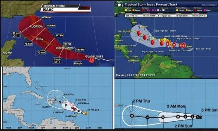 Se forma la tormenta Tropical Isaac