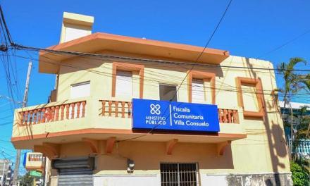 Jean Rodríguez entrega Fiscalía Comunitaria Villa Consuelo remodelada y equipada