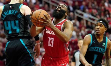 Rockets siguen racha ganadora gracias a los 28 puntos de Harden