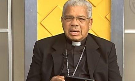 """Arzobispo de SD: """"Si no se respetan los poderes, caemos en una dictadura"""""""